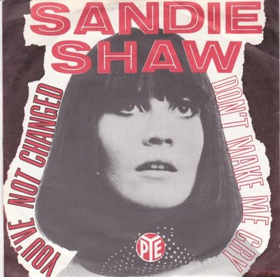 Sandie Shaw - You've not changed + You've been seeing her again (Vinylsingle)