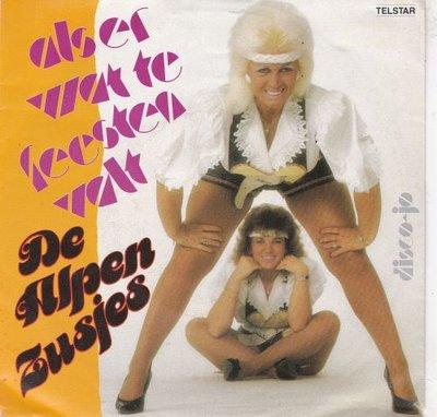 Alpenzusjes - Als er wat te feesten valt + Dico-jet (Vinylsingle)
