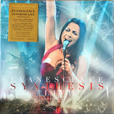 EVANESCENCE - SYNTHESIS LIVE -COLOURED VINYL- (Vinyl LP)