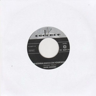 Eddie Hodges - I'm gonna knock on your door + Ain't gonna wash for a week (Vinylsingle)