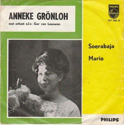 Anneke Gronloh - Soerabaja + Mario (Vinylsingle)