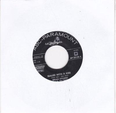 Brian Hyland - Sealed with a kiss + Summer job (Vinylsingle)