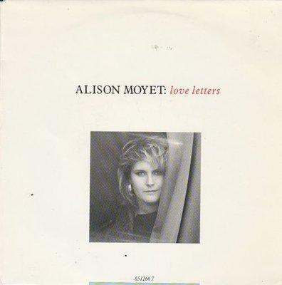 Alison Moyet - Love letters + This house (Vinylsingle)