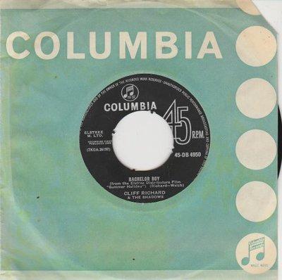 Cliff Richard - Bachelor boy + The next time (Vinylsingle)
