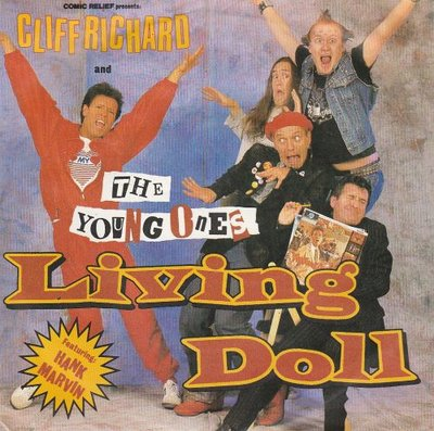 Cliff Richard & Young Ones - Living doll + Happy (Vinylsingle)