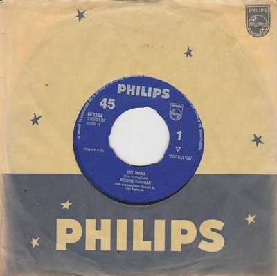 Frankie Vaughan - Hey Mama + Brand new motor (Vinylsingle)