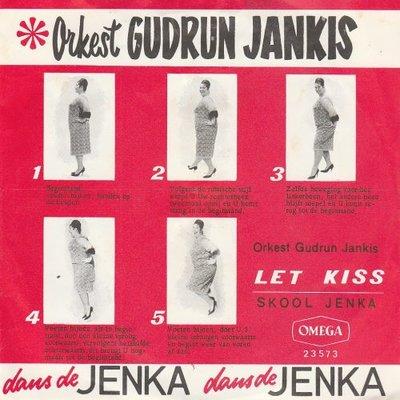 Gudrun Jankis - Let kiss + Skool Jenka (Vinylsingle)
