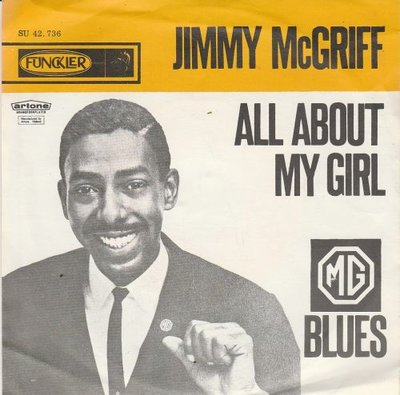 Jimmy McGriff - All about my girl + Blues  (Vinylsingle)