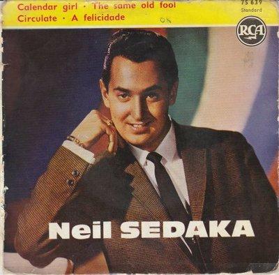 Neil Sedaka - Calendar Girl (EP) (Vinylsingle)