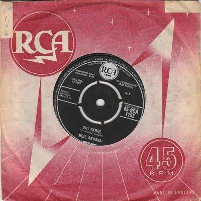 Neil Sedaka - Oh Carol + One way ticket (Vinylsingle)