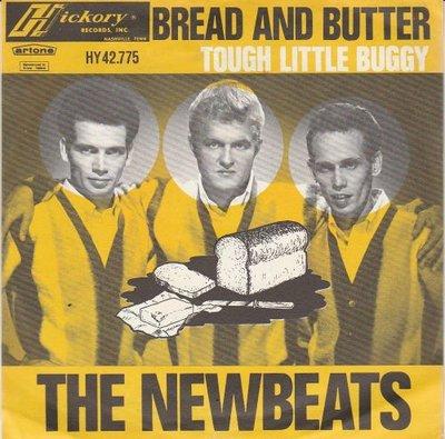 Newbeats - Bread and butter + Tough little buggy (Vinylsingle)