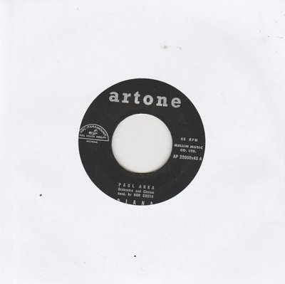 Paul Anka - Diana + Don't gamble with love (Vinylsingle)