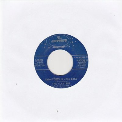 Platters - Smoke gets in your eyes + Harbor lights (Vinylsingle)