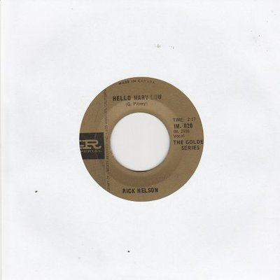Ricky Nelson - Hello Mary Lou + A wonder like you (Vinylsingle)