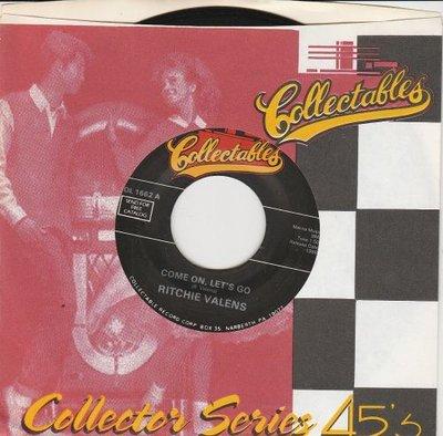 Ritchie Valens - Come on. let's go + Framed (Vinylsingle)