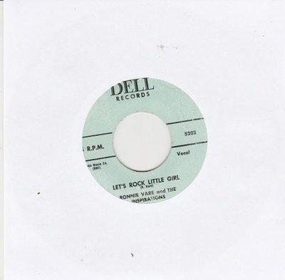 Ronnie Vare - Let's Rock Little Girl + Love Just For Two (Vinylsingle)
