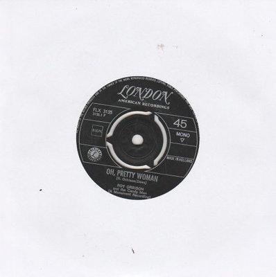 Roy Orbison - Oh. pretty woman + Yo te amo Maria (Vinylsingle)