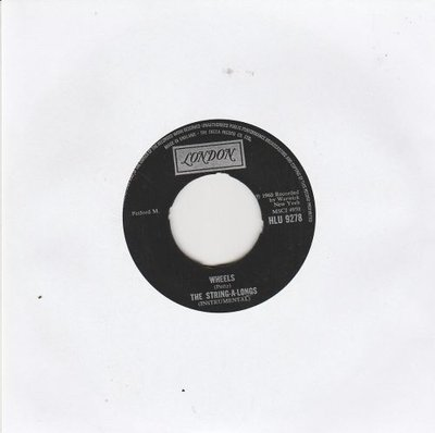 String A Longs - Wheels + Am I asking too much (Vinylsingle)