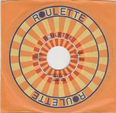 Tommy Roe - Sheila + Sweet pae (Vinylsingle)