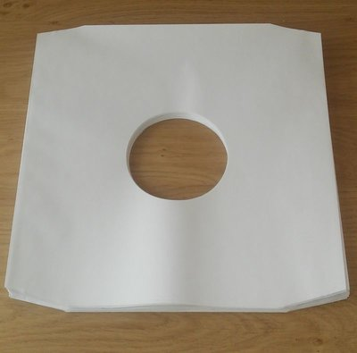 "Innersleeves for 12"" Vinyl  (without inner foil) - pack 50 pieces"