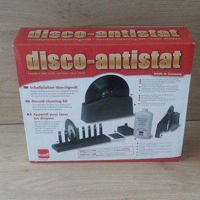 Disco-Antistat Record Cleaning Machine