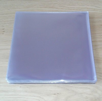 "Plastic PVC outersleeves for 7"" Vinylsingles - pack 50 pieces"