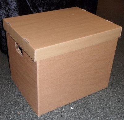 "Cardboard LP Box for 12"" Records"