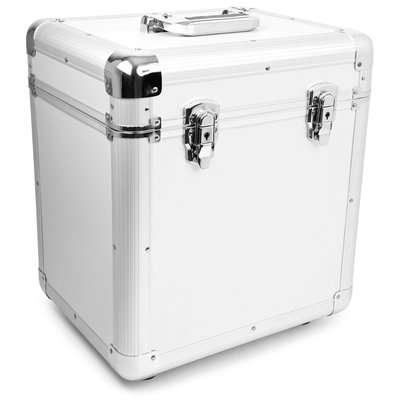 LP Flightcase for 100 records (Silver)