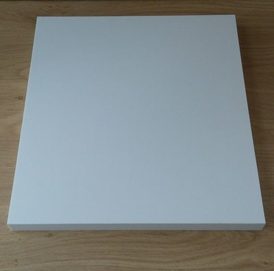 "12"" Vinyl LP Dividers White - 25 pieces"