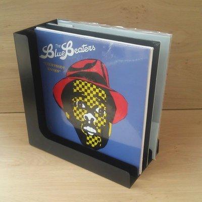 """12"""" Vinyl LP Box (half open) for 40 Vinyl LP's - set 2 pieces"""