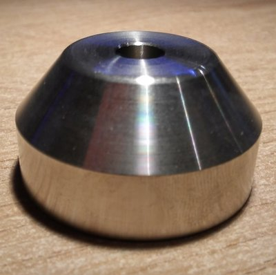 Metal Single Puck Halfround