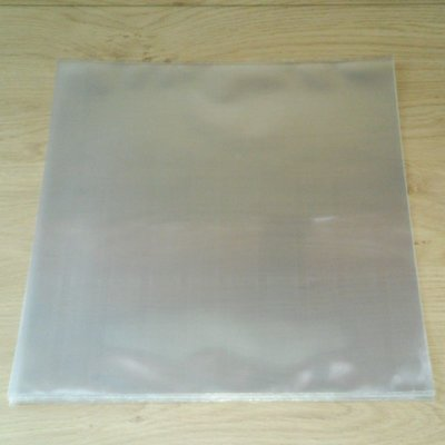 Bright Plastic Outersleeves for LP Boxen (till 24mm) - 10 pieces