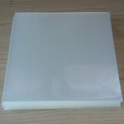 "Bright Plastic Outersleeves for 7"" Vinylsingles (100my) - 100 pieces"