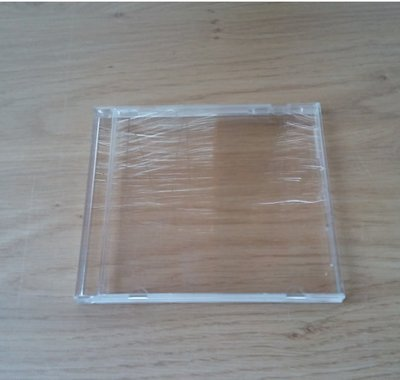 Plastic CD Case - 1 piece