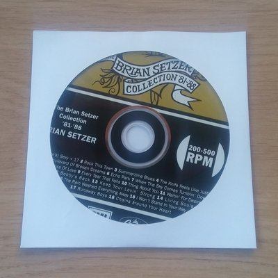 White Paper CD covers - 100 pieces