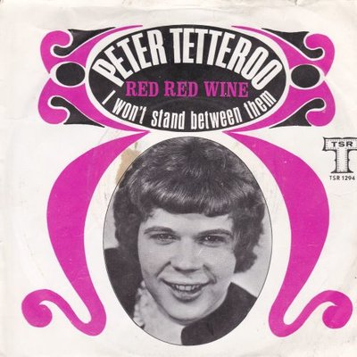 Peter Tetteroo - Red red wine + I won't stand between them (Vinylsingle)