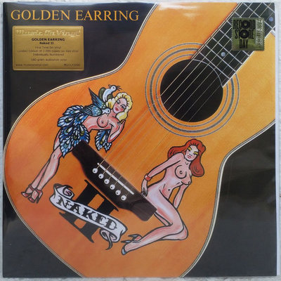 GOLDEN EARRING - NAKED II - COLOURED/INSERT- (Vinyl LP)