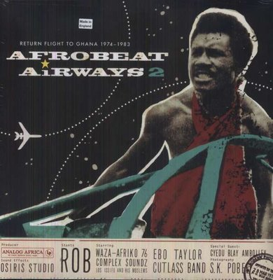 V/A - AFRO-BEAT AIRWAYS 2 (Vinyl LP)