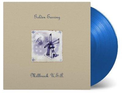 GOLDEN EARRING - MILLBROOK U.S.A. -BLUE VINYL- (Vinyl LP)