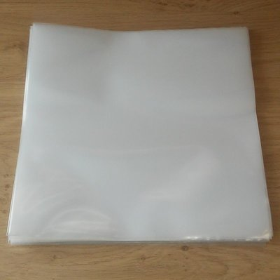 "Plastic Outersleeves for 10"" Vinyl/78RPM Records - 25 pieces"