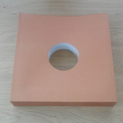 "Brown Cardboard Sleeves for 10"" Vinyl / 78RPM Records - 25 pieces"