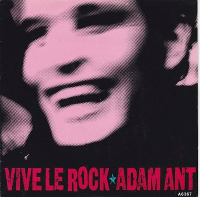Adam Ant - Vive Le Rock + Greta X (Vinylsingle)