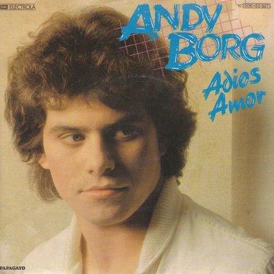 Andy Borg - Adios amor + (instr.) (Vinylsingle)