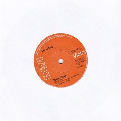 Archies - Sugar sugar + Melody hill (Vinylsingle)