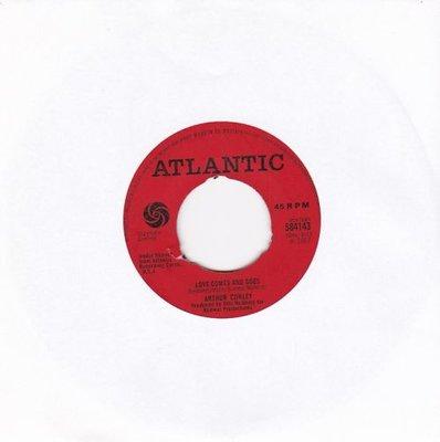 Arthur Conley - Love comes and goes + Whole lotta woman (Vinylsingle)
