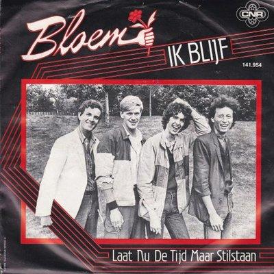 Bloem - Ik blijf + Laat nu de tijd maar stilstaan (Vinylsingle)