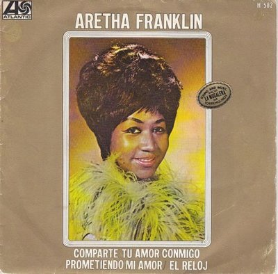 Aretha Franklin - Share Your Love With Me + Pledging My Love + The Clock (Vinylsingle)