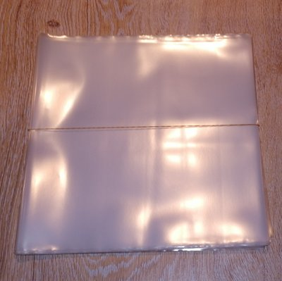 """Plastic Outersleeves for 10"""" thick Vinyl/78RPM Records - 25 pieces"""