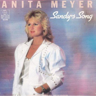 Anita Meyer - Sandy's song + Breakaway (Vinylsingle)