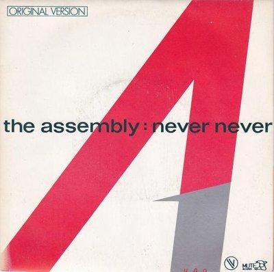 Assembly - Never never + Stop start (Vinylsingle)